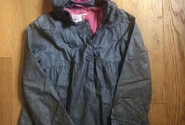 DPAM water proof jacket with hood age 8/9