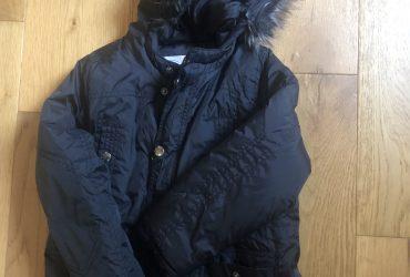 Black coat age 6-7