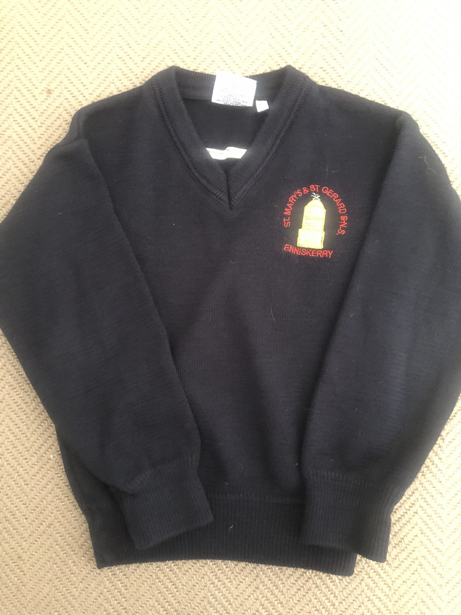 St Mary's & Gerard's school jumper age 4-5