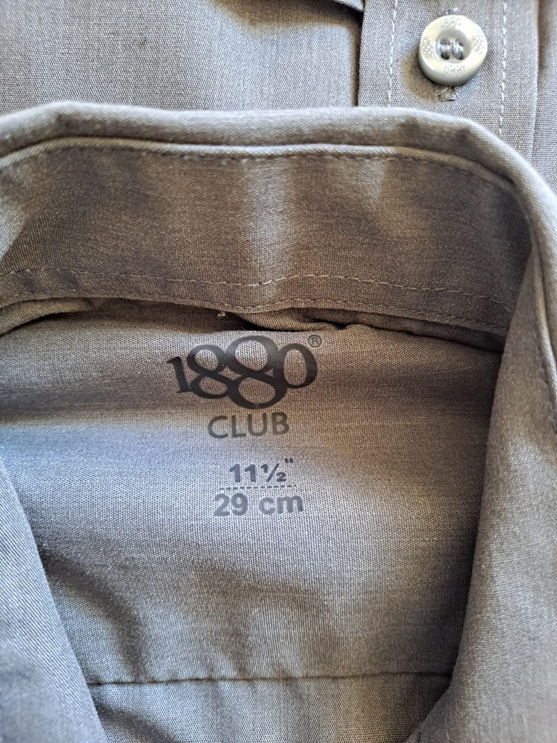 grey shirts 11,5
